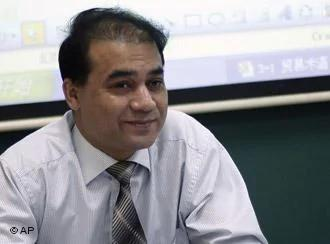 FILE- In this Tuesday, Dec.1,2009 photo, economist Ilham Tohti, from China