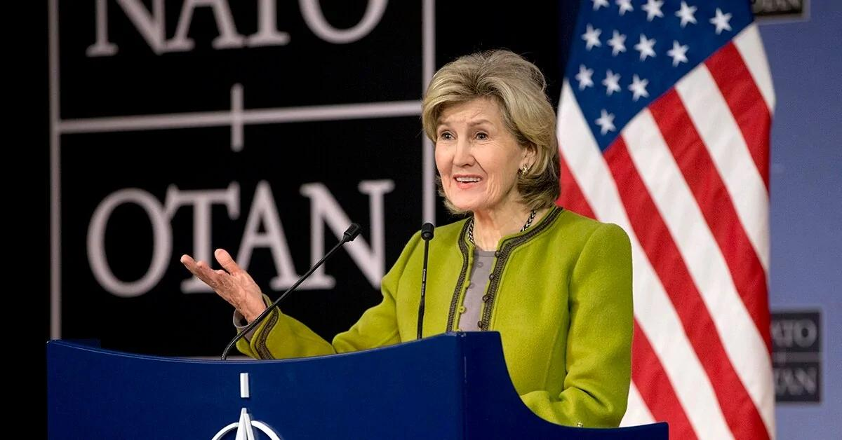Image result for kay bailey hutchison nato